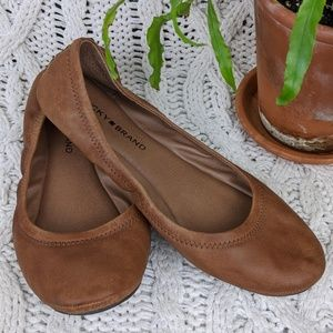 Lucky Brand Emmie Leather Ballet Flat 8